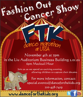 Fashion Out Cancer Show Flyer Final